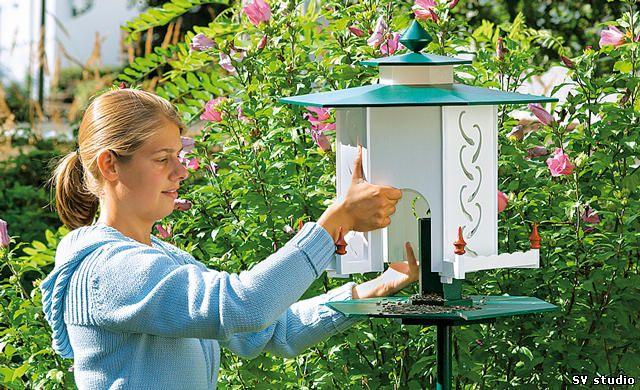 Кормушка для птиц своими руками.